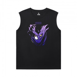 Naruto Printed Sleeveless T Shirts For Mens Japanese Anime T-Shirts
