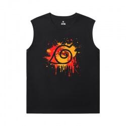 Naruto Sleeveless Tshirt For Men Vintage Anime T-Shirts