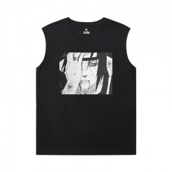 Naruto Tee Vintage Anime Mens Graphic Sleeveless Shirts