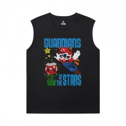 Guardians of the Galaxy Men'S Sleeveless Graphic T Shirts Marvel The Avengers Groot Tees