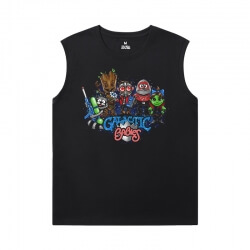 The Avengers Groot Shirts Marvel Guardians of the Galaxy Mens Sleeveless T Shirts