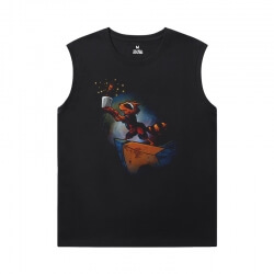 Marvel Guardians of the Galaxy T-Shirt The Avengers Groot Basketball Sleeveless T Shirt