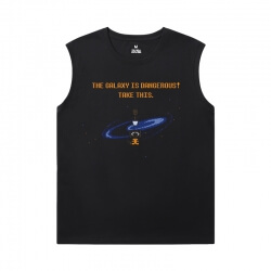 The Avengers Groot Tshirts Marvel Guardians of the Galaxy Sleeveless T Shirt Black