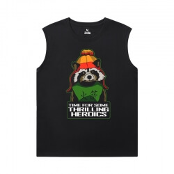 Marvel Guardians of the Galaxy Tee The Avengers Groot Mens Sleeveless Sports T Shirts