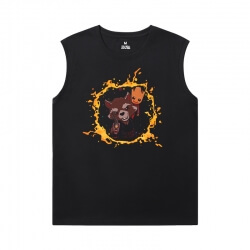 The Avengers Groot Shirts Marvel Guardians of the Galaxy Mens Sleeveless Tee Shirts