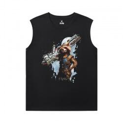 Marvel Guardians of the Galaxy Sleeveless Tshirt Men The Avengers Groot Tee Shirt