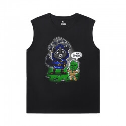 Marvel Guardians of the Galaxy T-Shirt The Avengers Groot Sleeveless Tshirt Mens