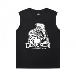 WOW Custom Sleeveless Shirts Blizzard Tee Shirt