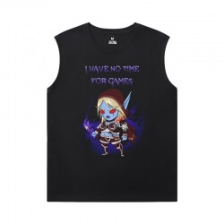 Blizzard Tshirts Warcraft Sleeveless Cotton T Shirts