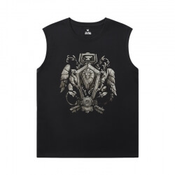 World Warcraft T-Shirt Blizzard XXXL Sleeveless T Shirts