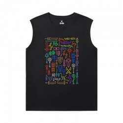 World Of Warcraft Youth Sleeveless T Shirts Blizzard Tees