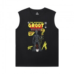 Guardians of the Galaxy Boys Sleeveless Tshirt Marvel Groot Shirt