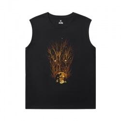 Groot Tshirt Marvel Guardians of the Galaxy Black Sleeveless Tshirt
