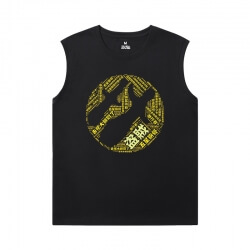 WOW Black Sleeveless Shirt Men Blizzard T-Shirt