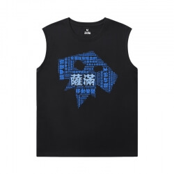 World Of Warcraft Sleeveless T Shirt For Gym Blizzard Shirt