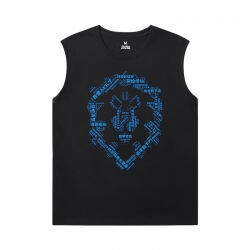 WOW Basketball Sleeveless T Shirt Blizzard Tee Shirt