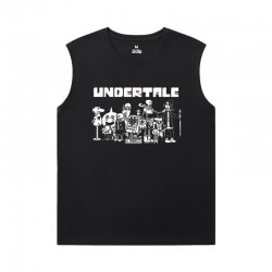 Hot Topic Annoying Dog Skull Shirts Undertale Sports Sleeveless T Shirts