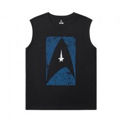 Star Trek T-Shirts Cool Printed Sleeveless T Shirts For Mens