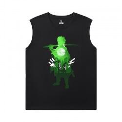 Cool Shirts Anime Demon Slayer Men Sleeveless Tshirt