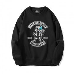 Crew Neck Annoying Dog Skull Jacket Undertale Sweatshirt