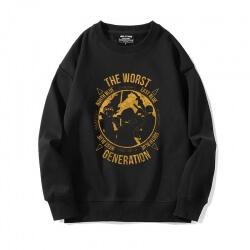 Crewneck Tops Japanese Anime One Piece Sweatshirts