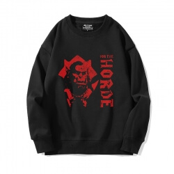 World Of Warcraft Hoodie Black Sweatshirts