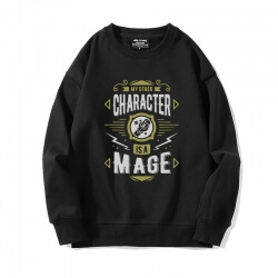 Crew Neck Hoodie WOW Classic Sweatshirt