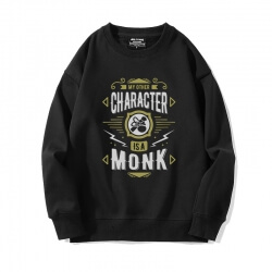 World Warcraft Sweatshirt Black Sweater