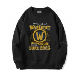 World Warcraft Tops Crew Neck Sweatshirts