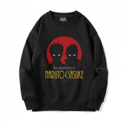Black Sweatshirt Anime Naruto Coat