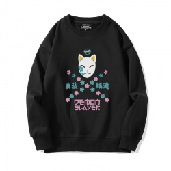 Anime Demon Slayer Coat Crew Neck Sweatshirts