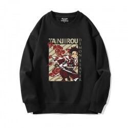 Anime Demon Slayer Coat Black Sweatshirt