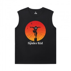 Spiderman Tees Marvel The Avengers Cheap Sleeveless T Shirts