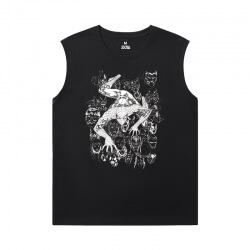 Spiderman Mens Sleeveless Sports T Shirts Marvel The Avengers Tees