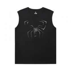 Marvel Spiderman Mens Sleeveless Tee Shirts The Avengers Tee