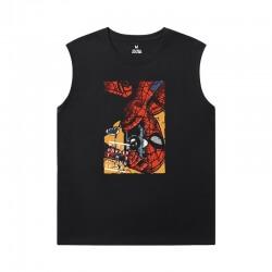 Marvel Spiderman Tee Shirt The Avengers Sleeveless Sideless Shirt