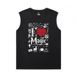 Personalised Shirts Harry Potter Men'S Sleeveless T Shirts For Gym
