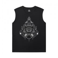 Harry Potter Shirt Cotton Cool Sleeveless T Shirts