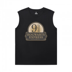 Personalised Tshirts Harry Potter Sleeveless T Shirts Men'S For Gym