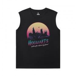 Harry Potter T-Shirts Cotton Men'S Sleeveless Muscle T Shirts