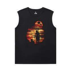 Star Wars Black Sleeveless T Shirt XXL Tee Shirt
