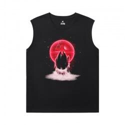 Cotton Tshirt Star Wars Black Sleeveless Tshirt