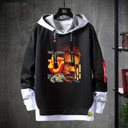 Star Wars Sweatshirt Black Jacket