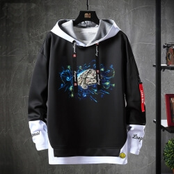 Fake Two-Piece Jacket Star Wars Sweatshirt