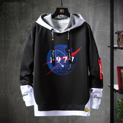 Star Wars Sweatshirt Black Coat