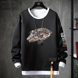 Fake Two-Piece Sweater Star Wars Sweatshirts
