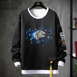Star Wars Sweatshirts Black Jacket