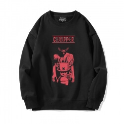Black Chopper Sweatshirts Anime One Piece Jacket