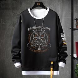 Attack on Titan Jacket Fake Two-Piece Sweatshirt