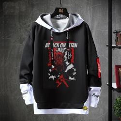 Attack on Titan Sweatshirt Black Hoodie